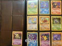 Complete 82/82 1st Edition Team Rocket Pokemon Card Set Charizard Blastoise