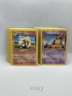 Complete Base Set 2 Commons And Uncommons NM-Mint Vintage Pokemon Cards