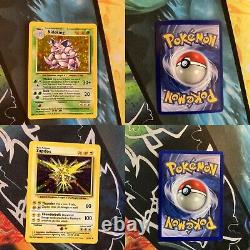 Complete Base Set Pokemon Card Collection 101/102 Original Blastoise NM-PL
