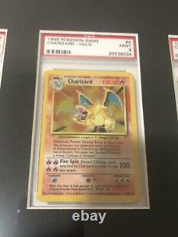 Complete Holo PSA 9 & 10 Unlimited Base Set Pokemon Cards Framed Blastoise