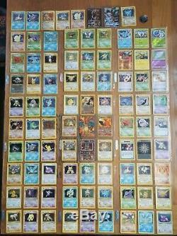 Complete Pokémon Card Sets. Massive Bundle. Team Rocket, Fossil 4/102 WOTC &