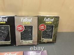 Complete SET Of 7 Fallout 76 Limited Edition SPECIAL Perk Cards Limited Edition