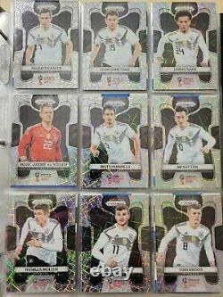 Complete Set 300 cards LAZER 2018 Panini Prizm WC 2018 Mbappe Messi Ronaldo