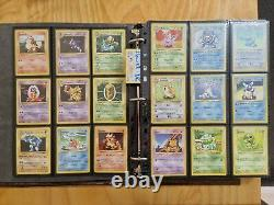 Complete Shadowless Base Set Pokemon Cards 102/102