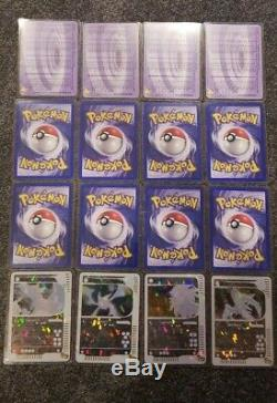 Complete WOTC Box Topper Set Pokemon Card Skyridge Crystal Charizard Jumbo Promo