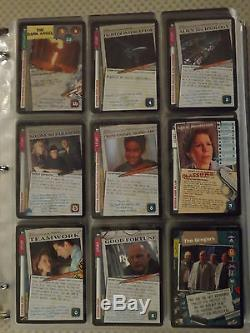 Complete X-Files CCG (Premier, TTIOT, 101361 Sets, all 24 promo cards) Card Game