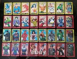 DC SUPER HEROES ARCADE COIN PUSHER CARDS Complete Set Series 1 & Series 2