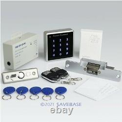 DIY Full Complete RFID Door Access Control Kit Set With Electric Strike Lock NEW