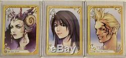 FINAL FANTASY 8 VII TRIPLE TRIAD 110 CARD COMPLETE SET Carddass Masters Squall