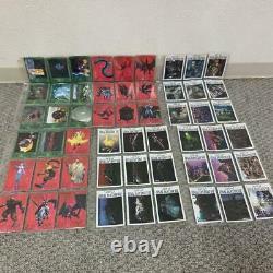 Final Fantasy VII Official Binder Carddass Masters + Complete 139 Cards Full Set