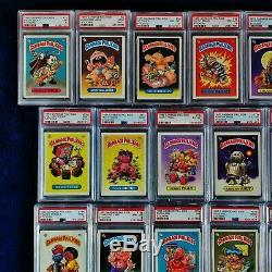 GARBAGE PAIL KIDS 1985 1st Series Complete MATTE Set 82 Cards PSA Graded 8.3 Avg