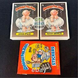GARBAGE PAIL KIDS 6th SERIES 6 COMPLETE 88-CARD SET 1986 + FREE WAX WRAPPER