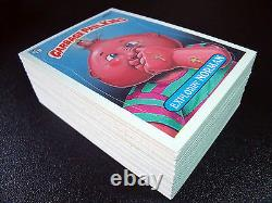 GARBAGE PAIL KIDS 8th SERIES 8 COMPLETE 88-CARD SET 1987 + FREE WAX WRAPPER