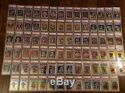 GARBAGE PAIL KIDS CHROME 1st Series 1 PSA 10 Gem Mint COMPLETE Set 82 cards GPK