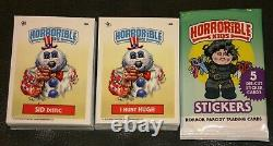 Horrorible Kids 4 Like Garbage Pail Kids Complete Set 90 Cards A/b Horror