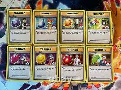 Kanto 8x Gym Badge Pokemon League Holo Black Star Promo XY Complete Card Set