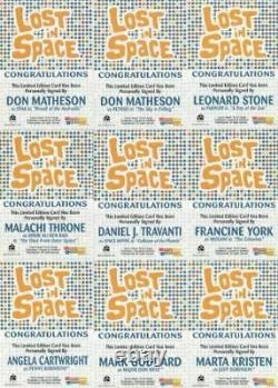Lost in Space Complete Autograph Card Set 24 Cards