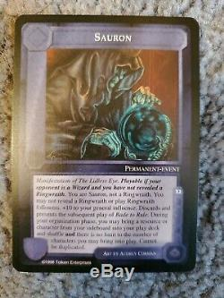 MECCG Middle-Earth CCG The Balrog Complete Set 104 Cards + 70 Grey Border NM