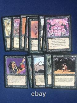 MTG 1994 Legends Near Complete Common Set Most Mint/NM 70 of 75 cards