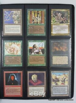 Mtg THE DARK Complete Set 119 Cards Magic the Gathering EX/NM