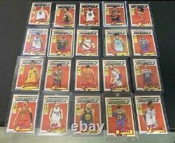 NBA Card Panini Donruss Net Marvels Complete Set 20 Collector