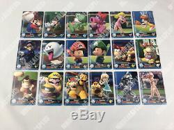 NEW EU Mario Sports Superstars amiibo cards PICK CARDS, COMPLETE SET & ALBUMS