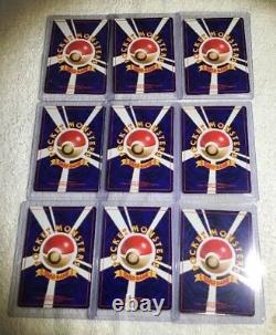 NM Pokemon COMPLETE Japanese NEO Premium File 1 PROMO 9 Card Genesis Set