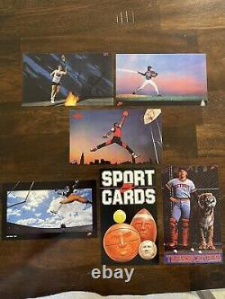 Nike 1985 Sports Card Promo Complete Set Michael Jordan Rookie