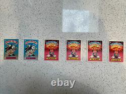 OS1 High Grade Garbage Pail Kids Series 1 Matte Backs Complete 88 Card Set
