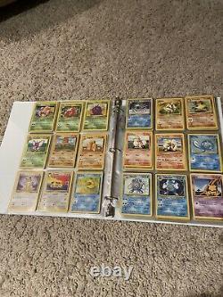 Original COMPLETE SET POKEMON Cards 151/151 Base Set, Fossil Charizard, 30 Foils