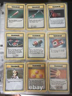 Original Pokemon Cards Complete Base Set Shadowless Charizard Blastoise 102/102