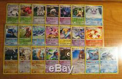PL/NM Complete MASTER Pokemon MYSTERIOUS TREASURES Card Set 124/123 LV. X Staff