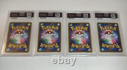 PSA 10 Complete Mario & Luigi Pikachu Japanese Promo Set Pokemon Cards