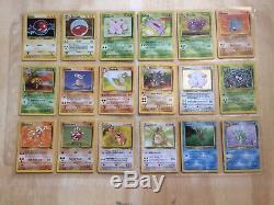 Pokemon 151 Set Complete 100 % Original Classic Cards Base Fossil Jungle