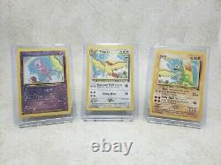 Pokemon 2001 Southern Islands Promo Set Complete Collection 18/18 Cards withBinder