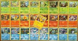 Pokemon 25th Anniversary McDonalds Promo Complete Master Set Holo Non 25-50 Card