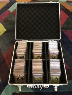 Pokemon Base Set Complete 102/102. All Cards PSA 10. Ultra Rare Investment