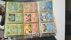 Pokemon COMPLETE Set of ORIGINAL 151/150 Cards Contains Base, Jungle, Fossil Ca