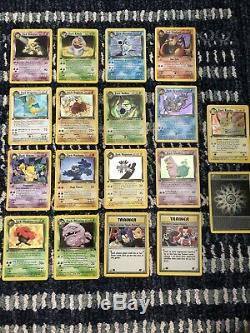 Pokemon Card 1st Edition Team Rocket Set 83/82 Complete Holo Rare NM Mint