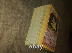 Pokemon Card Complete 102/102 Base set! 23 Shadowless cards, 2 Charizard holo