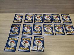 Pokemon Card Complete Fossil Set 62/62 Cards