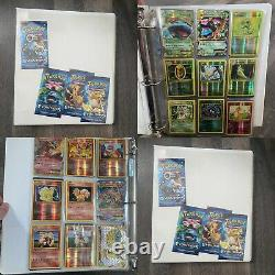 Pokemon Card XY Evolutions Complete Set Mostly Holos 1/113-113/108 Full Binder