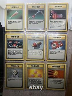 Pokemon Cards Base Set 100% Complete 102/102 Charizard Blastoise Venusaur