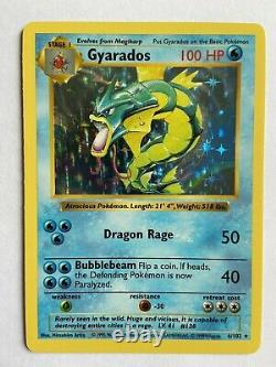 Pokemon Cards COMPLETE SHADOWLESS Base Set Mint/NM includes Charizard