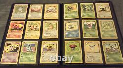 Pokemon Cards Complete Base, Jungle, Fossil, and Rocket Sets with 23 Star Promos