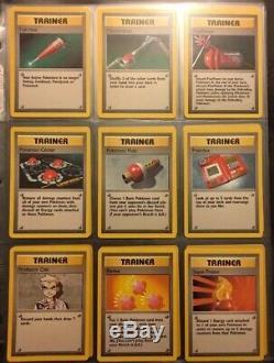 Pokemon Cards Complete Base Set 100% Complete Charizard Blastoise Venusaur