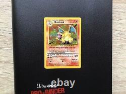 Pokemon Cards Complete Base Set 1999 Mint In Ultra Pro Binder