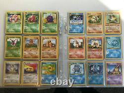 Pokemon Cards Complete Vintage 1st Generation Set 151 cards 1999 Charizard