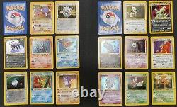 Pokemon Cards Neo Discovery Complete Set most 1st