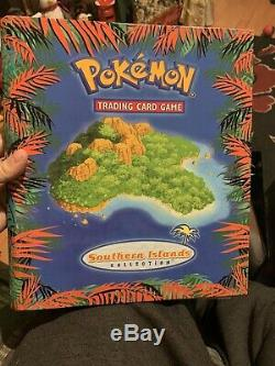Pokemon Cards, Southern Islands Complete Set, 18/18, In Folder, WOTC, RARE, NM/Mint